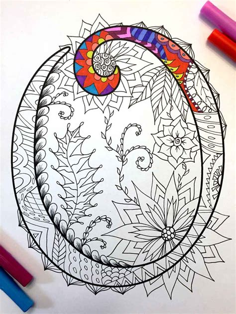 Guarantee Letter O Que é Letter O Zentangle Inspired By The Font Harrington By Djpenscript Pictures