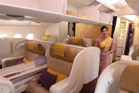 Thai Cabin by Flying A Thai Airways A380 In Royal Class