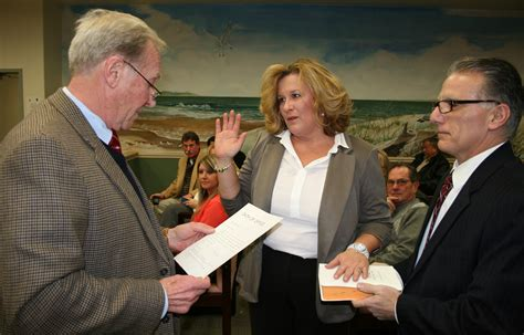 Cape May County Clerk Property Records Borough Clerk Kleuskens Retires Berardis Promoted To Clerk Avalon New Jersey