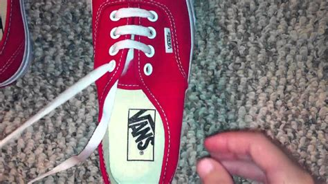7 Awesome Shoes To Step You Into by How To Lace Bar Lace Vans With 4 Holes