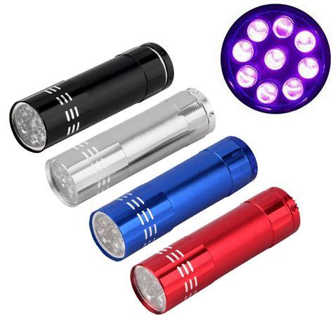 Senter Mini Ultraviolet 9 Led Mini Alumunium Uv Flashlight detection promotion shop for promotional