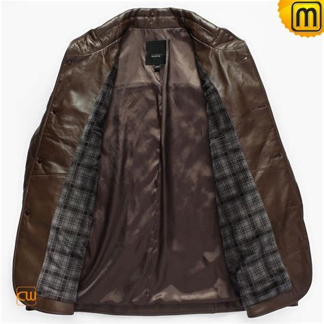 S W A T Leather Brown s brown sheepskin leather jackets cw833606