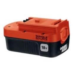 black decker batteries black and decker 18v battery single source ebay