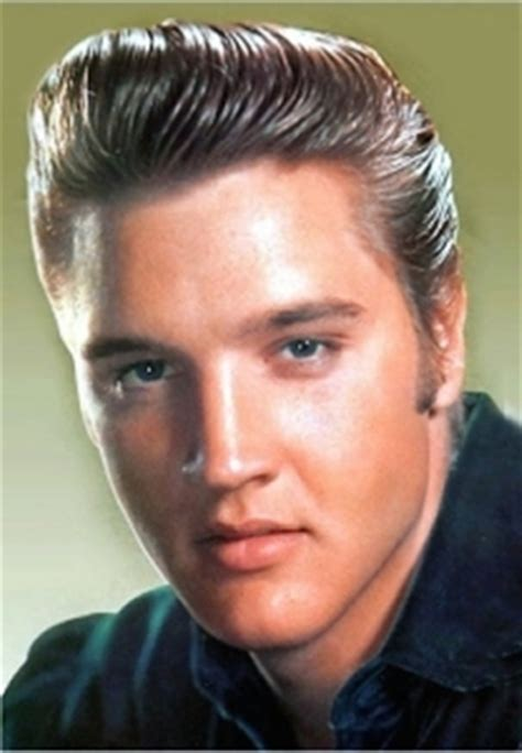 Elvis Presley Hairstyles Elvis Hairstyles 50s 60s 70s