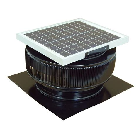 Solar Roof Light Master Flow 500 Cfm Solar Powered Gable Mount Exhaust Fan