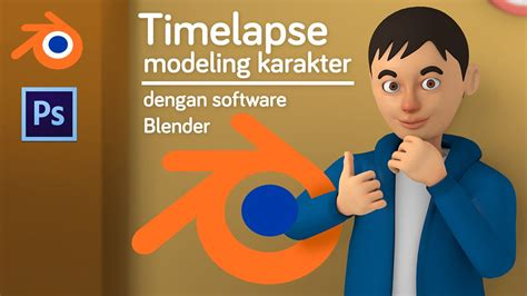 tutorial blender 3d membuat karakter tutorial modeling karakter dengan software blender