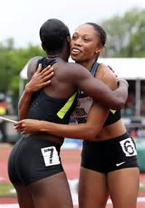 how to style hair for track and field more pics of allyson felix ponytail 4 of 31 allyson