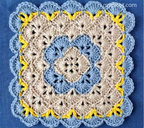 pattern motif crochet stitch patterns knit1knitall