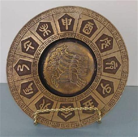 Home Decoration Tips chinese lunar calendar brass dish