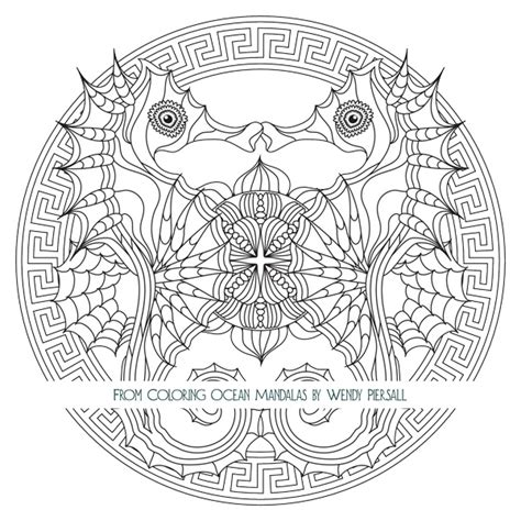 Coloring Ocean Mandalas is Here ? Preview the Book