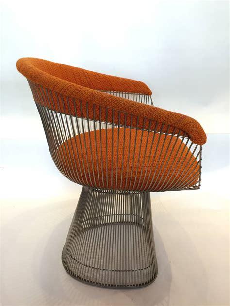 vintage warren platner  knoll armchair  stdibs