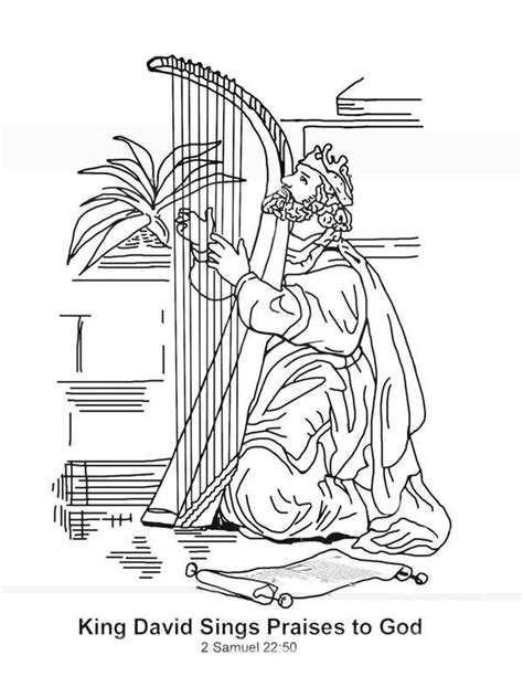 king solomon bible page to color 019 king david worshiping god coloring pages google search