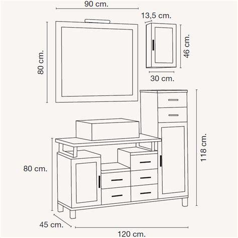 mueble de bano alba de    cm muebles de bano alba
