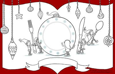 printable christmas placemats to color printable placemats c 233 leste gagnon illustrations