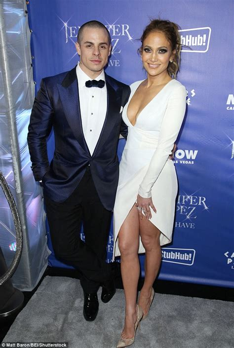j lo la nights comforter jennifer lopez shows off her le cleavage in plunging