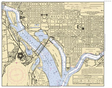 washington dc rivers map potomac river washington dc maryland and virginia nautical