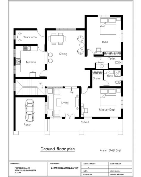 home design for 4 room bedrooms house plans