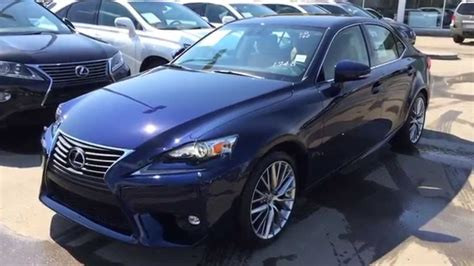 blue lexus 2015 blue on flaxen 2015 lexus is 250 awd luxury package