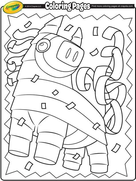 cinco de mayo pi 241 ata coloring page crayola com