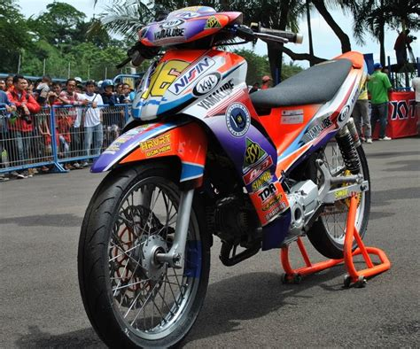 Modifikasi Jupiter Z Road by Motor Trend Modifikasi Modifikasi Motor Yamaha
