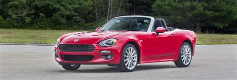 Consumer Reports Fiat by Drive 2017 Fiat 124 Spider Consumer Reports