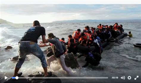 refugee boat cyprus look who s helping syrian refugees as they get off the