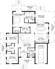 Home Design Blueprints one story house plans one story home plans 1 story floor plans