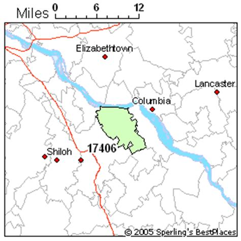 zip code map york pa best place to live in york zip 17406 pennsylvania