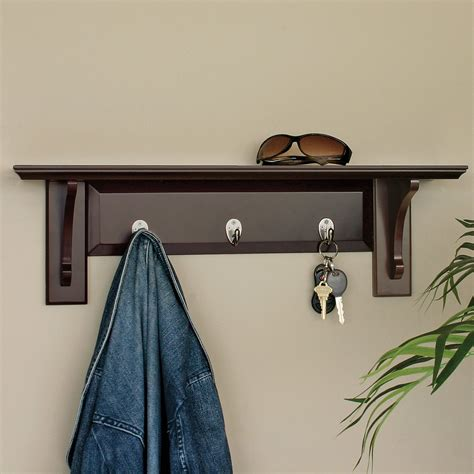 Wall Coat Hooks With Shelf by Coat Racks For Sale Shop At Hayneedle