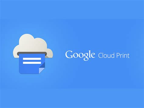 cloud print android cloud print une application pour android