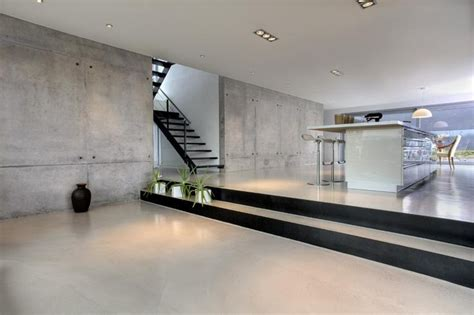 concrete in interior design destination living