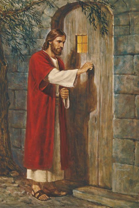 haustüren in der nähe jesus at the door jesus knocking at the door