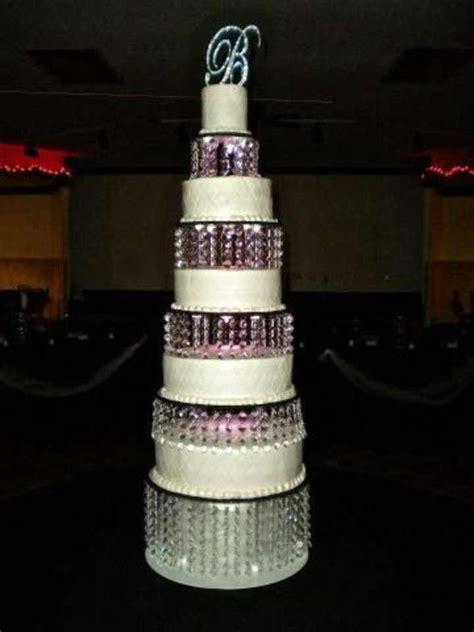 Blush Chandelier Earrings Chandelier Cake Stand Tradesy Weddings