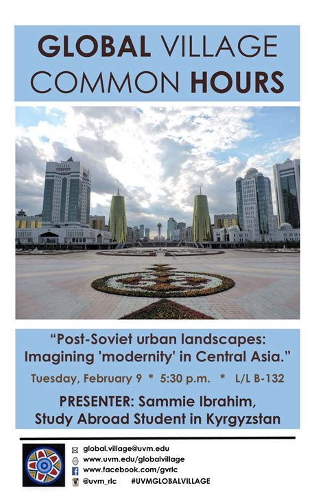 uvm study abroad global common hour imagining modernity in
