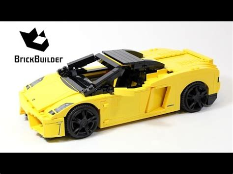 lego racers 8169 lamborghini gallardo lego speed build