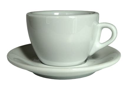 Cappuccino Cups by Nuova Point Sorrento Espresso Cups And Saucer In White