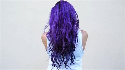 what color can i dye my hair how i dye my hair purple blue diy