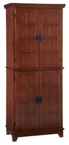 pantry cabinet in cottage oak finish craftsman pantry