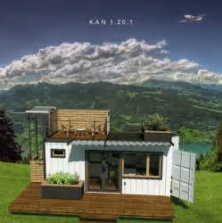 Hillside Cabin Plans the kan shipping container tiny home