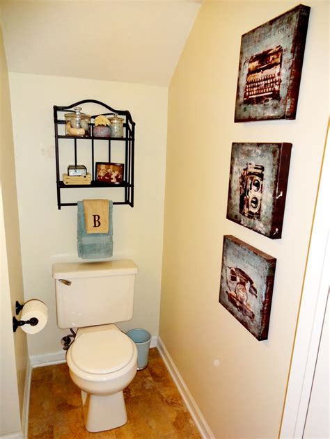 how to decorate a half bathroom half bath decor bathroom pinterest