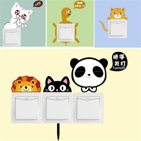 6 Pcs Cat Transparent Stickers Stiker Lucu Kucing the switch wall paper beli murah the switch wall paper lots from china the switch wall paper