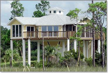 piling, pier, stilt houses hurricane & coastal home plans