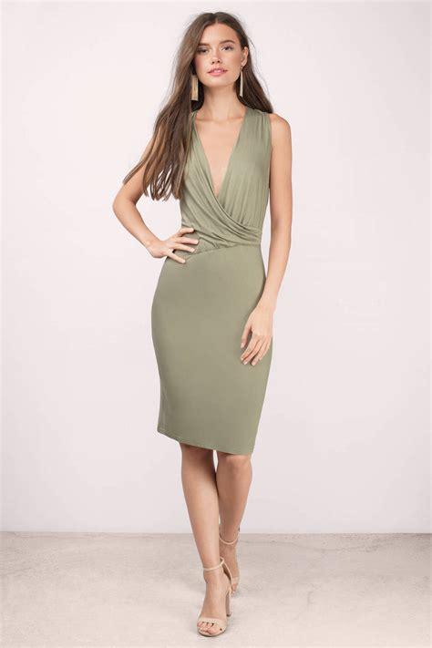 Id 217 Mix Color Dress Black trendy black midi dress sleeveless dress 28 00