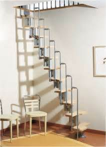 loft treppe modular staircase kit metal steel and wood