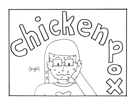 chicken pox coloring page what to eat and what to avoid a food guide for chicken
