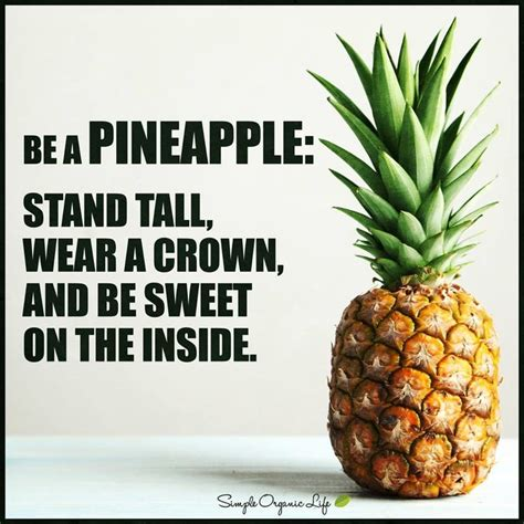 Pin By Chelsey Mace On Things I Like Pinterest - be a pineapple stand tall wear a crown and be sweet on