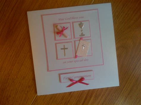 Handmade Communion Cards - s handmade cards holy communion cards