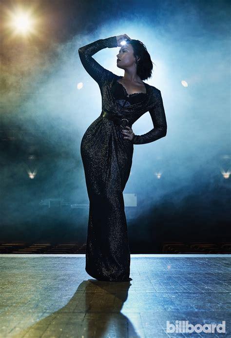 demi lovato top hits list demi lovato turns up the glam in billboard magazine