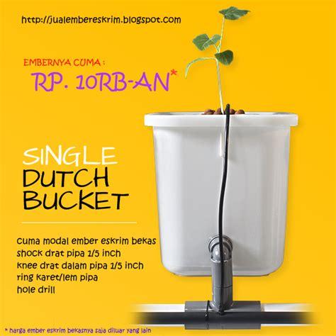 membuat hidroponik dutch bucket cara buat dutch bucket hidroponik sederhana jual ember