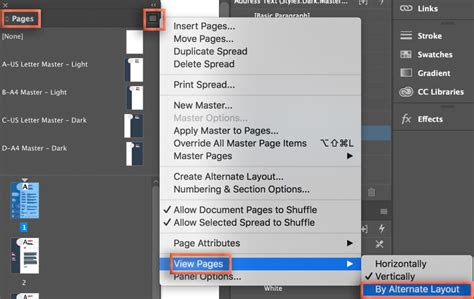 delete alternate layout indesign cc adobe indesign i can t edit an adobe stock cv template